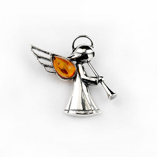 Angel with a Trumpet Pendant